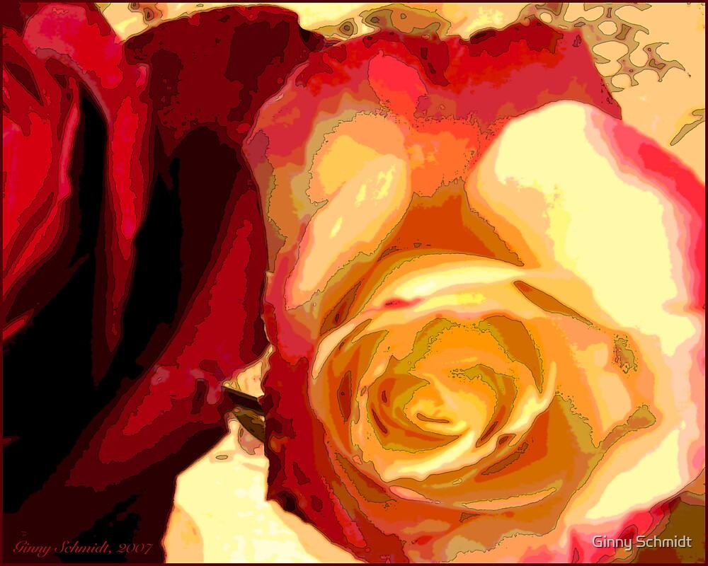 Rosey Outlook by Ginny Schmidt