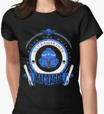 Macragge War - Limited Edition Womens Fitted T-Shirt