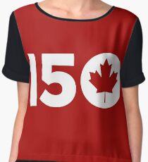CANADA 150th Women's Chiffon Top