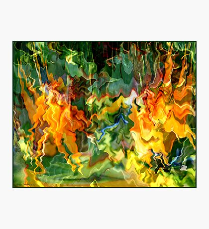 Paradise Revisited - Jungle Fire Photographic Print