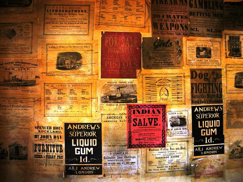 1800s advertising by senking