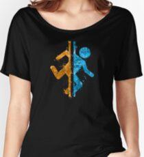Portal Splatter Women's Relaxed Fit T-Shirt
