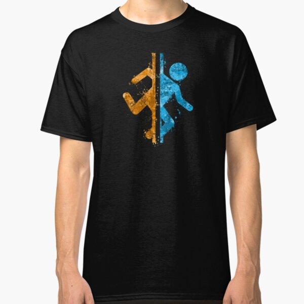 Salpicadura del portal Camiseta clásica