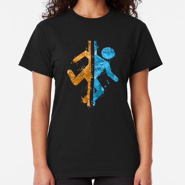 Portal Splatter Classic T-Shirt