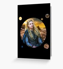 Lagertha Greeting Card