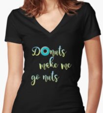Cray Fun Women's Fitted V-Neck T-Shirt