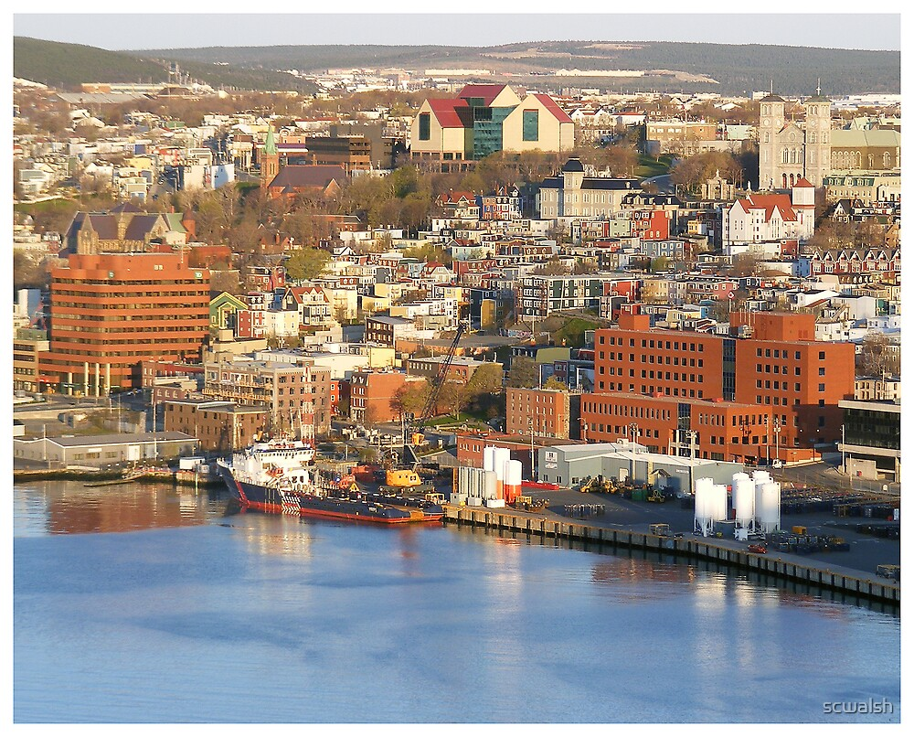St. John's  Harbour Front  by scwalsh