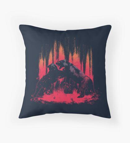 Brawl Throw Pillow