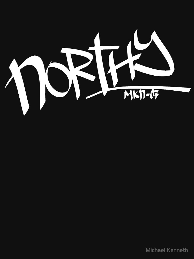 Northy - Logo White by mikez