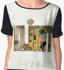 Gustav Klimt Chiffon Top
