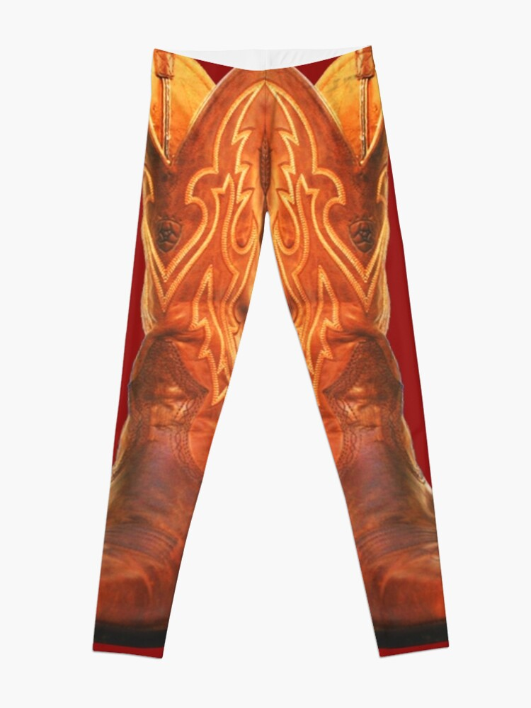 Cowboy Cowgirl Boots Country Western Wear | Leggings