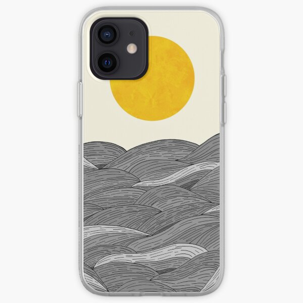 The Grey Waves iPhone Soft Case