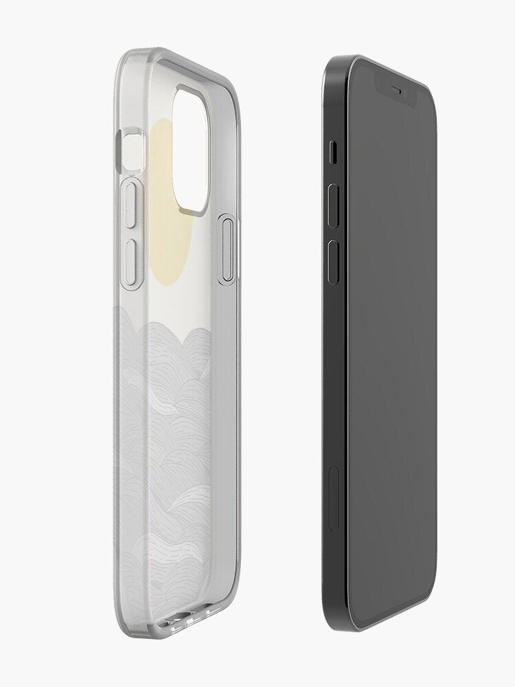 Alternate view of The Grey Waves iPhone Case & Cover