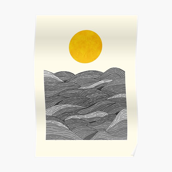 The Grey Waves Poster