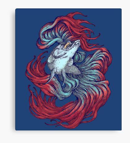 Betta New Wave Canvas Print
