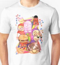 Bad Teeth Cartoon Party T-Shirt