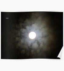 Lunar Floret Poster