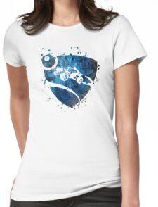 Rocket League Splatter Womens Fitted T-Shirt