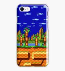 Sonic CD - Palmtree Panic iPhone Case/Skin