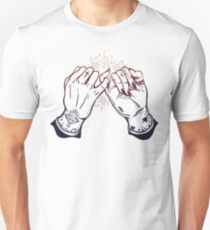 BFF Hand Tattoo - Pinky Promise - Occult Linework T-Shirt