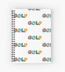 Golf Wang  Spiral Notebook