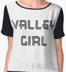 Valley Girl Chiffon Top