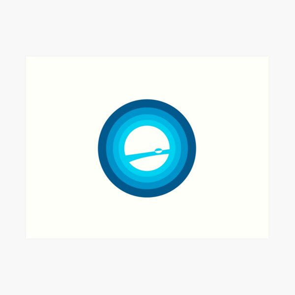 Celestial Studio Logo Art Print