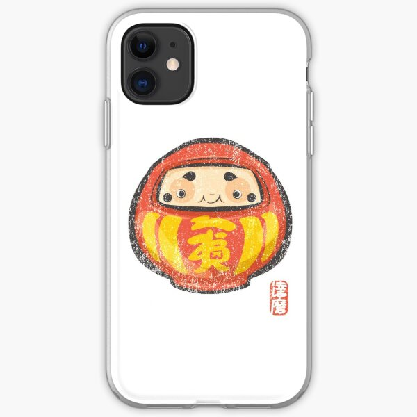Daruma [Special Lucky Toy Box] iPhone Soft Case
