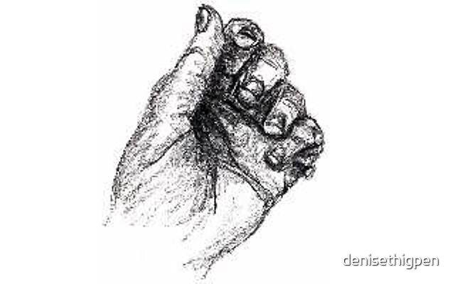 Hand by denisethigpen