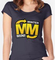 minter mini Women's Fitted Scoop T-Shirt