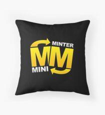 minter mini Throw Pillow