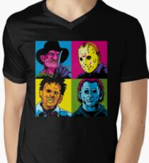 POP HORROR Men's V-Neck T-Shirt