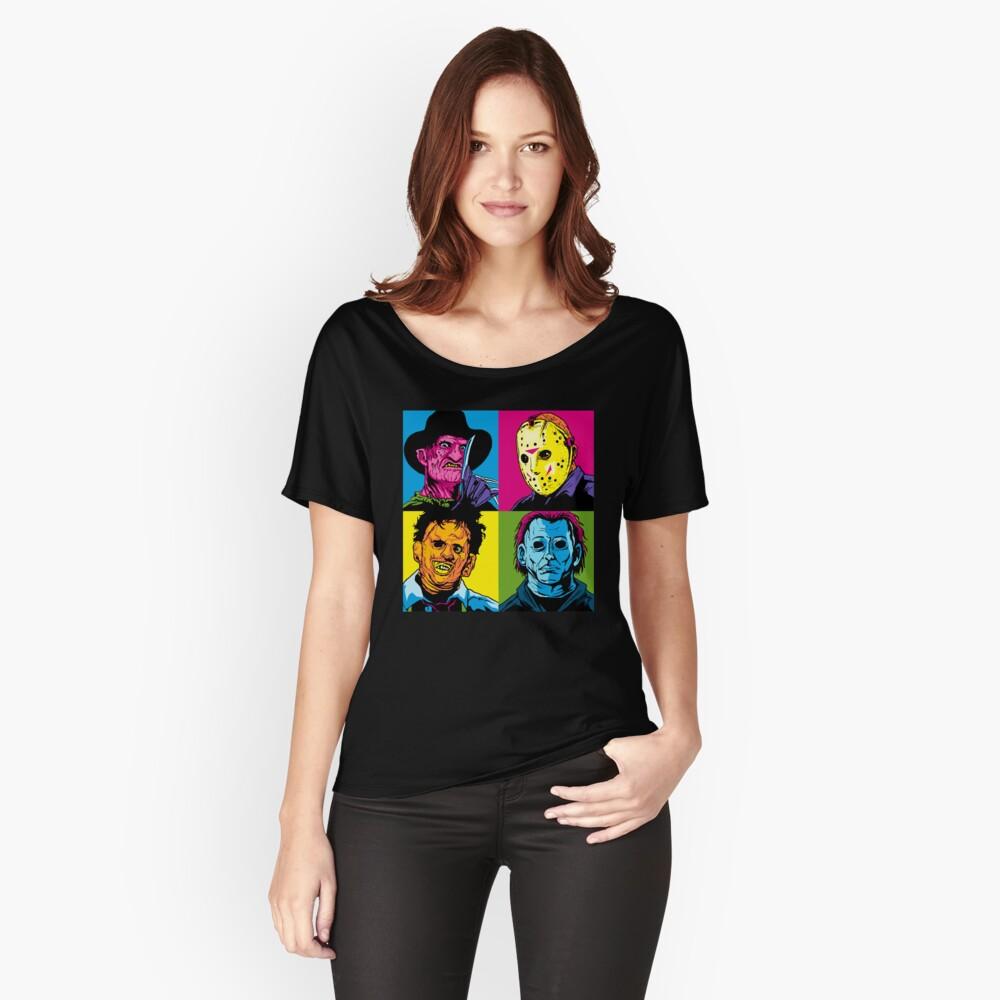 POP HORROR Relaxed Fit T-Shirt