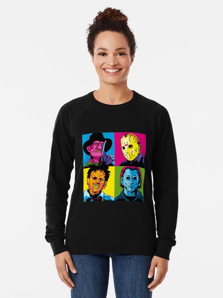 Alternate view of POP HORROR Lightweight Sweatshirt