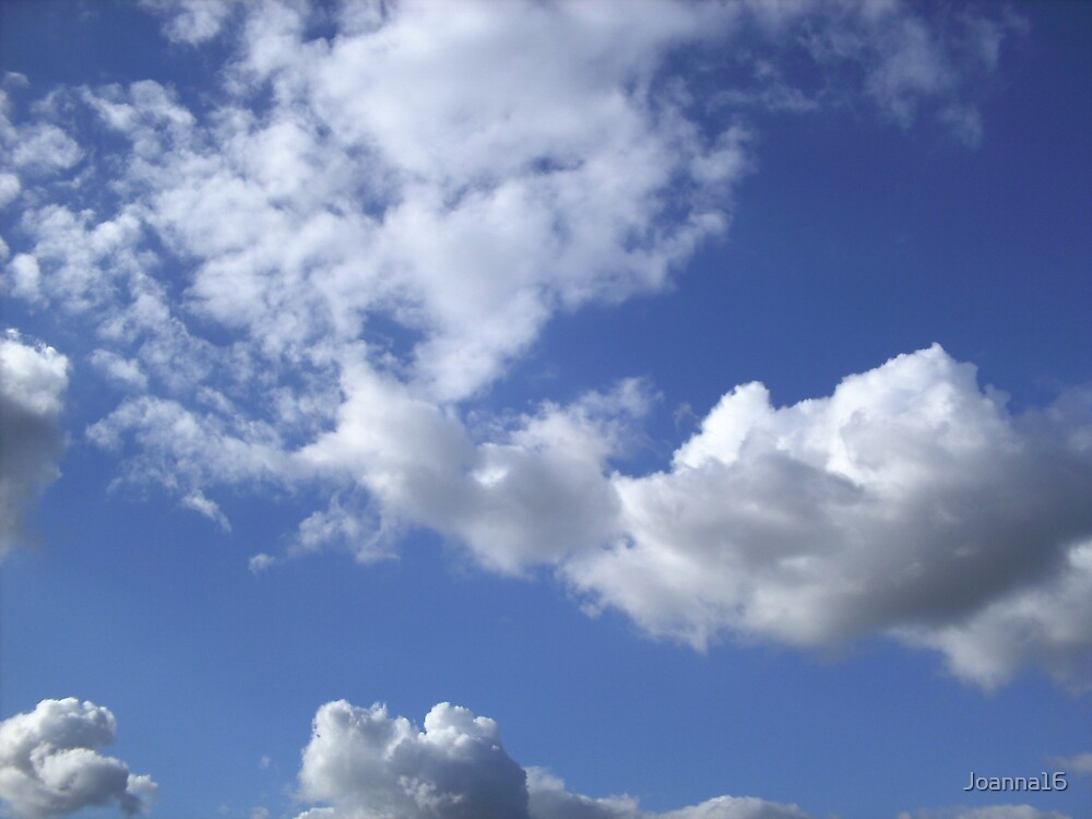 Chiswick Clouds by Joanna Jeffrees