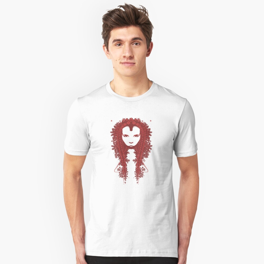 Persephone - Red Tee Unisex T-Shirt Front