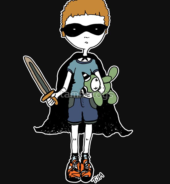 Boy with sword (for black) by tambatoys