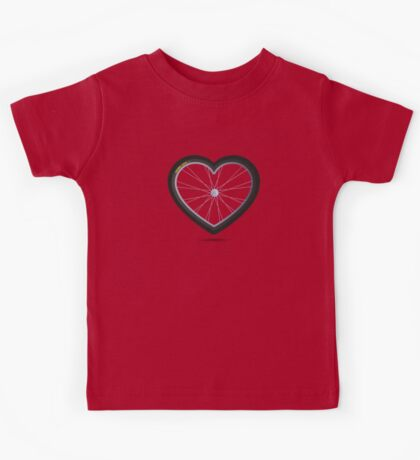 Wheel Love - MTB Red Kids Clothes