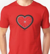 Wheel Love - MTB Red Unisex T-Shirt