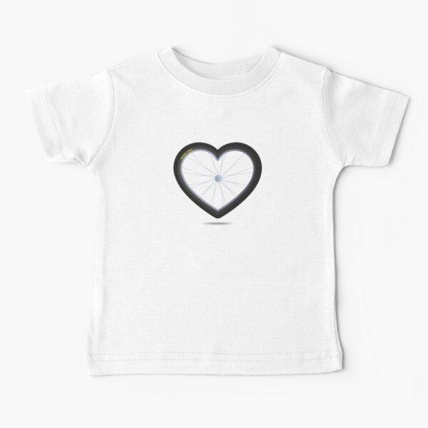 Wheel Love - MTB Rojo Camiseta para bebés