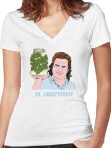 Eugene Dr Smartypants Women's Fitted V-Neck T-Shirt