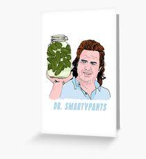 Eugene Dr Smartypants Greeting Card