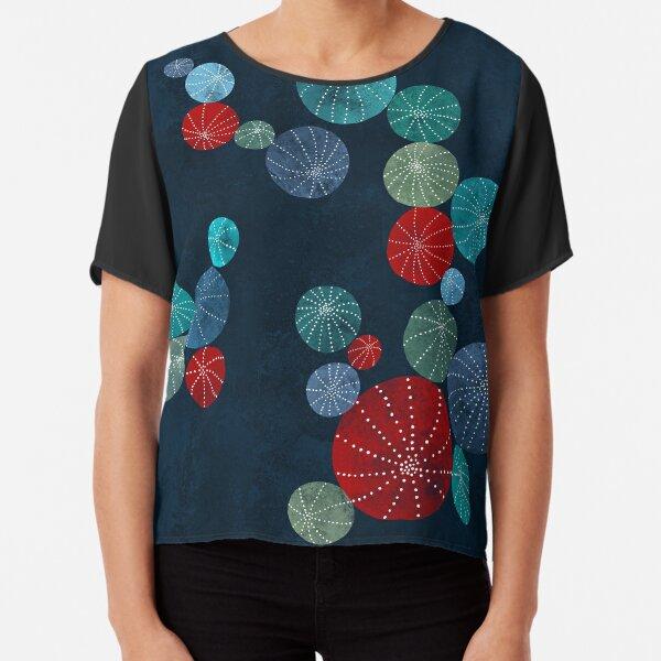 Colorful cactus field Chiffon Top