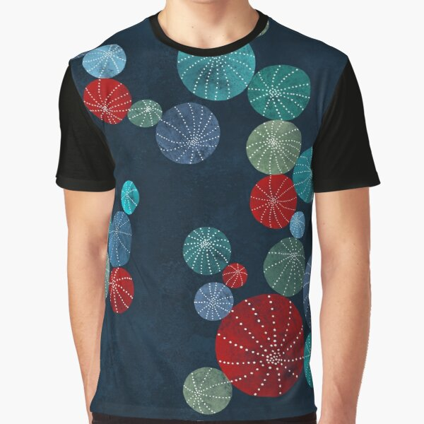 Colorful cactus field Graphic T-Shirt