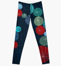 Colorful cactus field Leggings