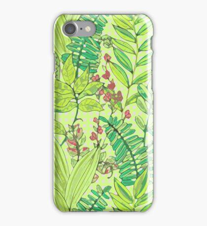 Greenery pattern nº1 iPhone Case/Skin