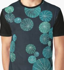 Turquoise cactus field Graphic T-Shirt