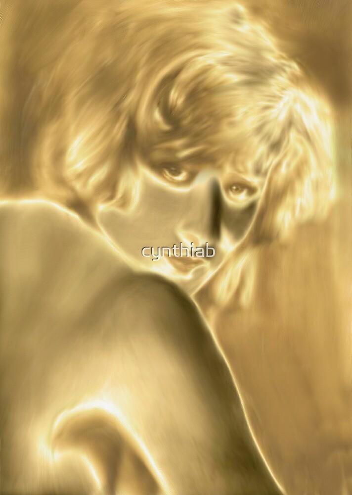 golden lady by cynthiab