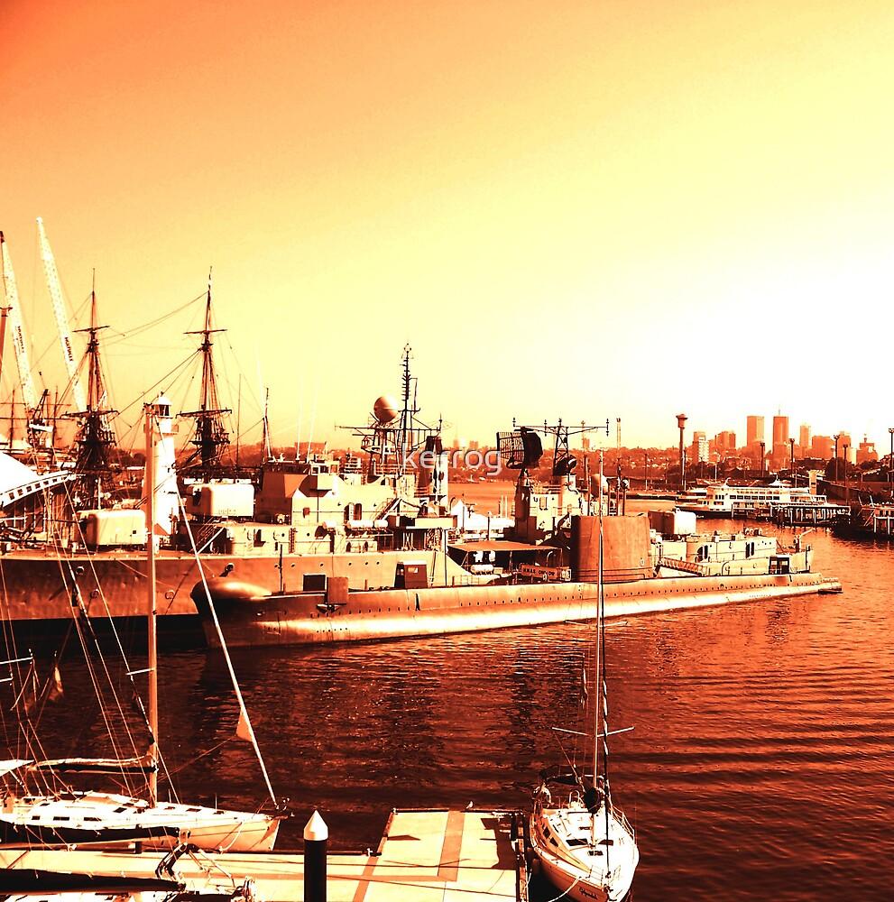 Golden Harbour by kerrog