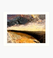 Mountain Storm Approaching Art Print